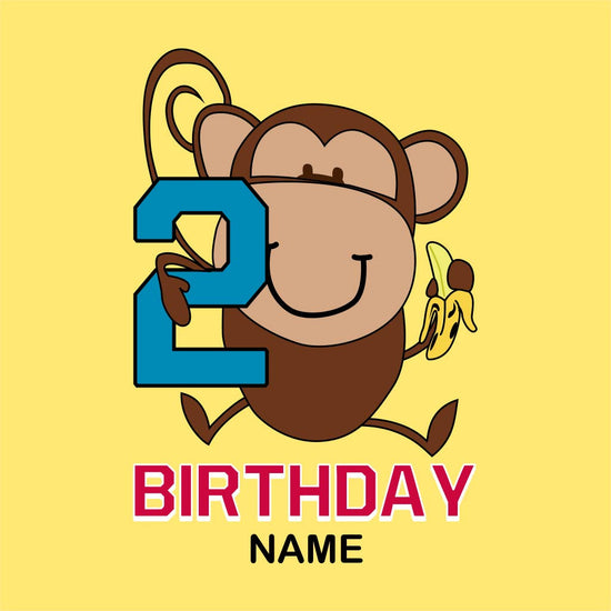 2nd Birthday Customized Tee
