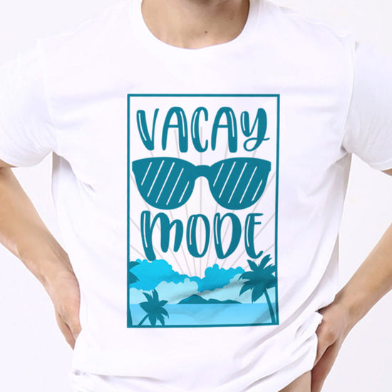 Vacay Mode(Sunglasses), Matching Family Travel Tees