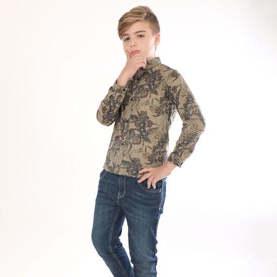Into The Wild, Full Sleeves Shirt For Boy