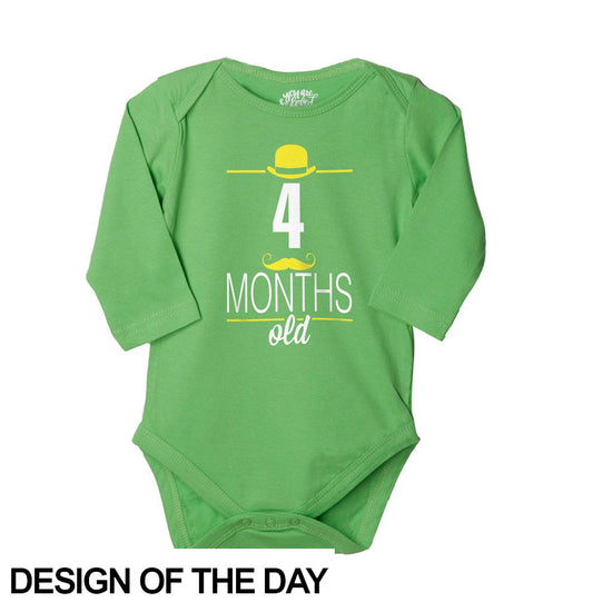 4 Months Old, Bodysuit For Baby