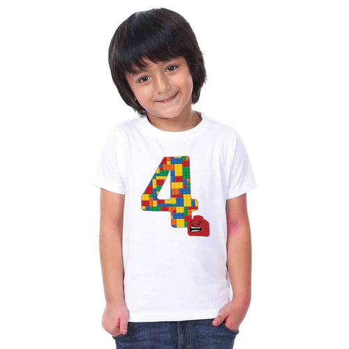 Puzzle 4 Year Boy Tee