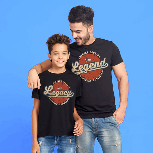 The Legend & Legacy, Matching Dad & Son Tees