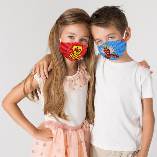 My Sis My Angel Matching Protective Mask For Siblings ( Set Of 2)