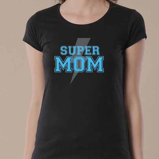Super Mom, Daughter, Son,  Tees For Son, Daughter And Mom.