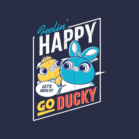 Happy Go Ducky, Matching Disney Tees For Siblings