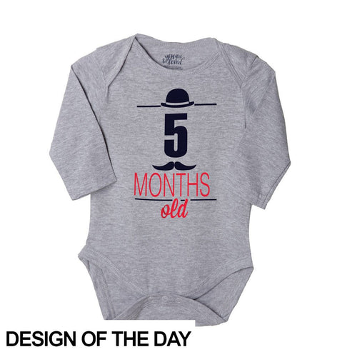 5 Months Old, Bodysuit For Baby