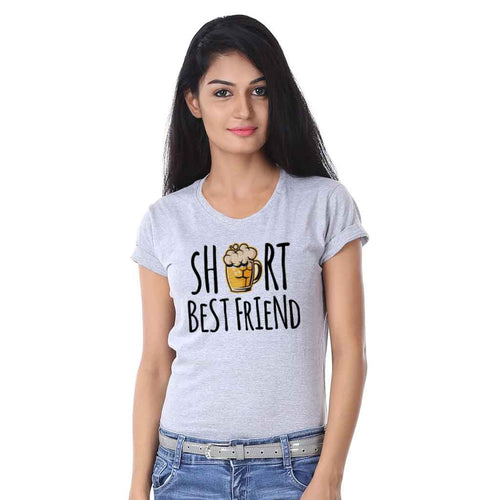 Short Tall Best Friend Tee