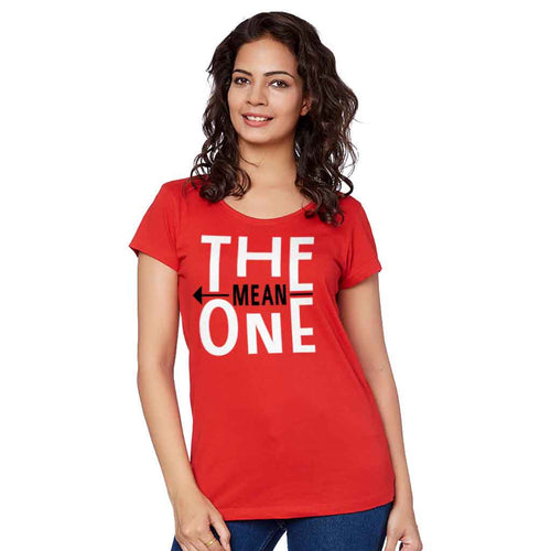 The Nice And Mean One Tee For Women