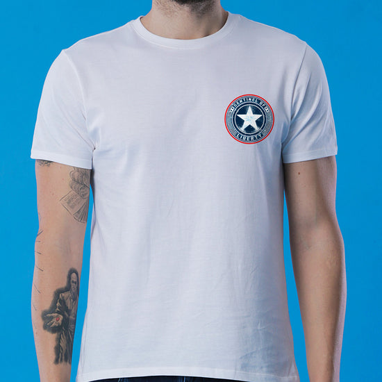 Shield Of Captain America, Marvel Tee For Boys