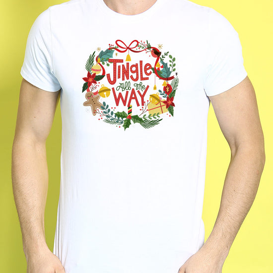Jingle All The Way, Single Tee For Men