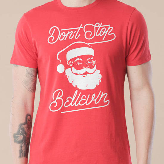 Keep believing Single Tee For Men