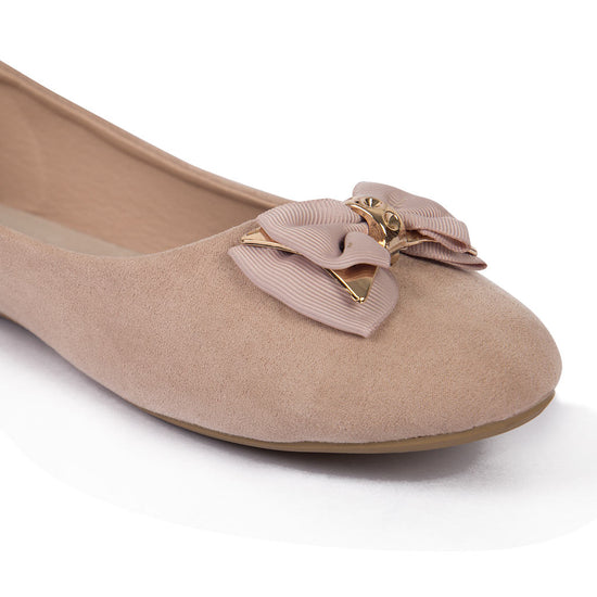 Happy In Suede Matching  Ballerinas For Mom And Daughter