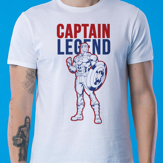 Captain Legend, Marvel Tees For Dad And Son