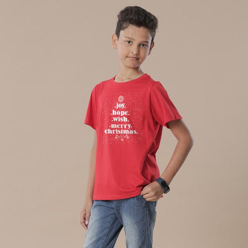 Joy, Hope, Wish Tees For Son