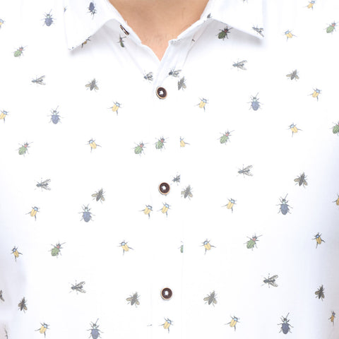 Bug Print Dad and Son Shirt