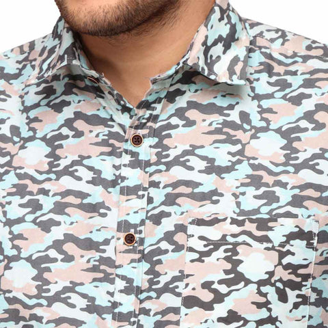 Camouflage print Father and Son Shirt