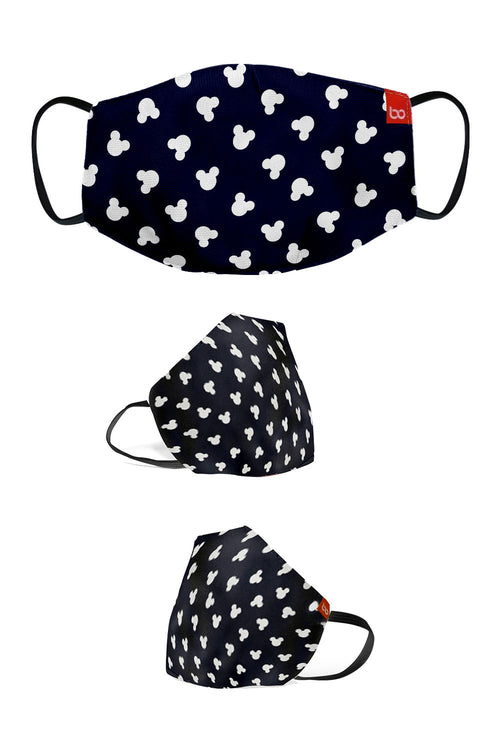 Mickey & Friends Printed Protective Kids Masks ( Set Of 3)