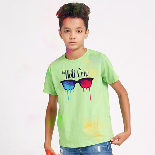 The Holi Crew Family Tees for Son