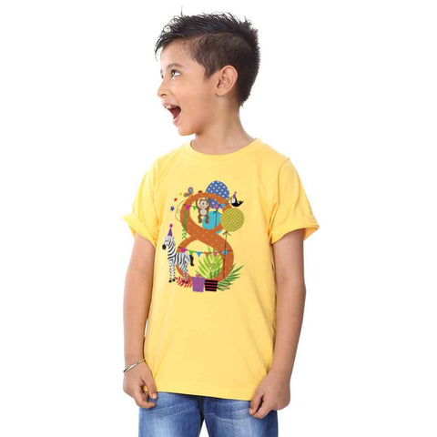 8 Year Birthday Boy Tee