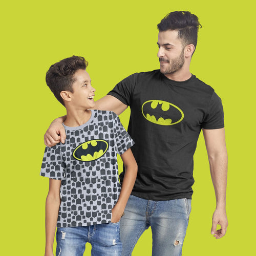 Batman Dad And Son Tees