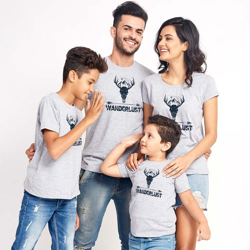 Wanderlust Matching Tees For Family