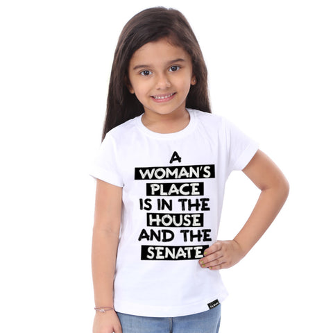 A Women's Place Is The House Tees for daughter
