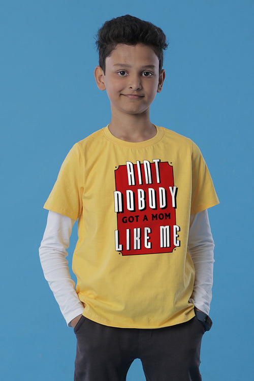 Aint Nobody  Mom & Son Tees for son