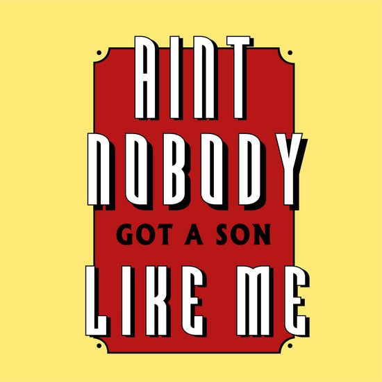 Aint Nobody Mom & Son Tees Bodysuit And Tees