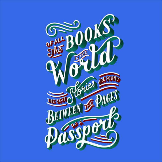 All The Books In The World Family Tees