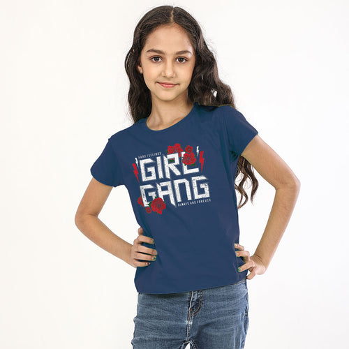 Girl Gang, Matching Tees For Sisters'