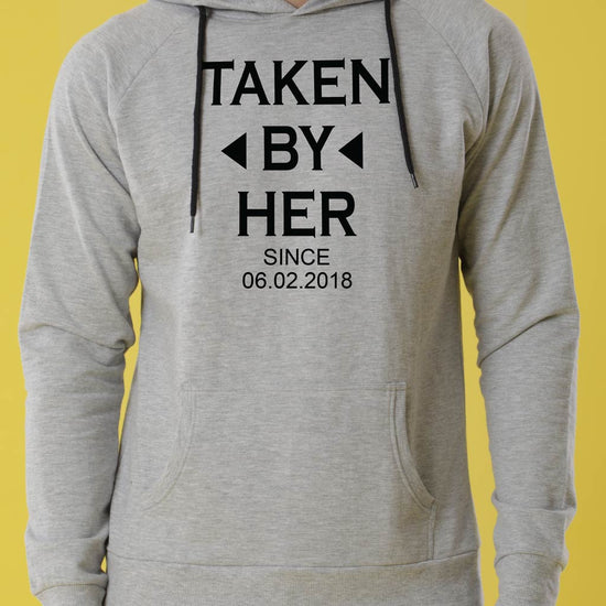 Already Taken Personalised Hoodies For Couples