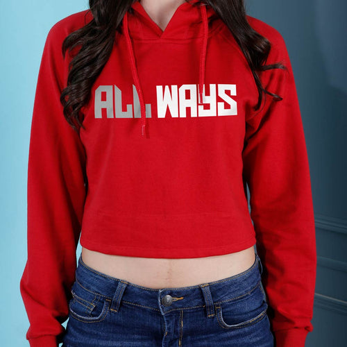 Allways, Matching Hoodie For Men And Crop Hoodie For Women