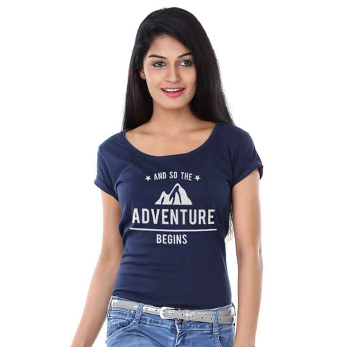 And So Adventure, Matching Travel Tees For Women
