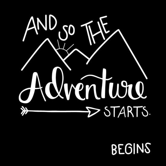 And So The Adventure Begins Friends Tees