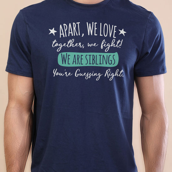Apart We Love, Matching Tees For Brother And Sister Adults