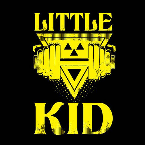 Black Big/Little Kid Father-Son Tees