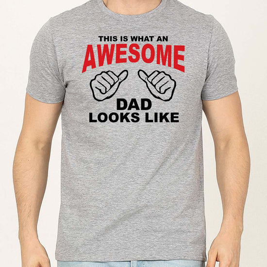 Awesomeness Dad And Daughter Matching Adult Tees
