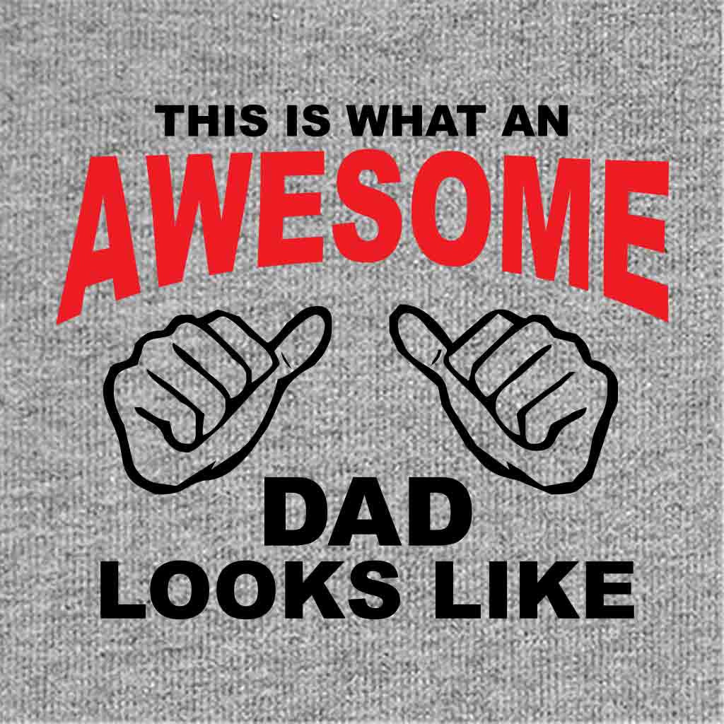 05e34a23 Awesome Looks Like Dad Daughter and Son Tshirt - BonOrganik