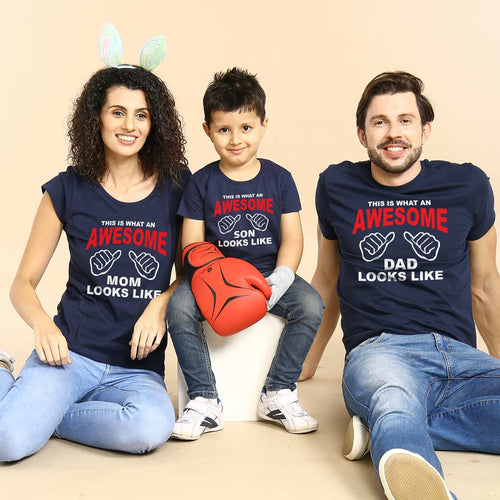 The Awesome Family, Matching Tees For Family