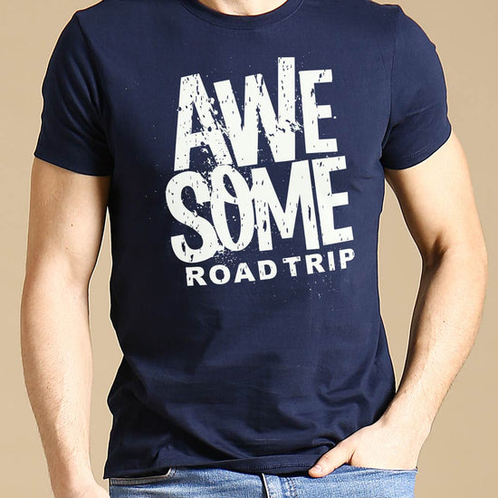 Awesome Road Trip, Matching Travel Tees