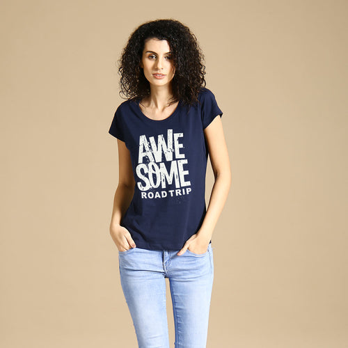 Awesome Road Trip, Matching Travel Tees For Women