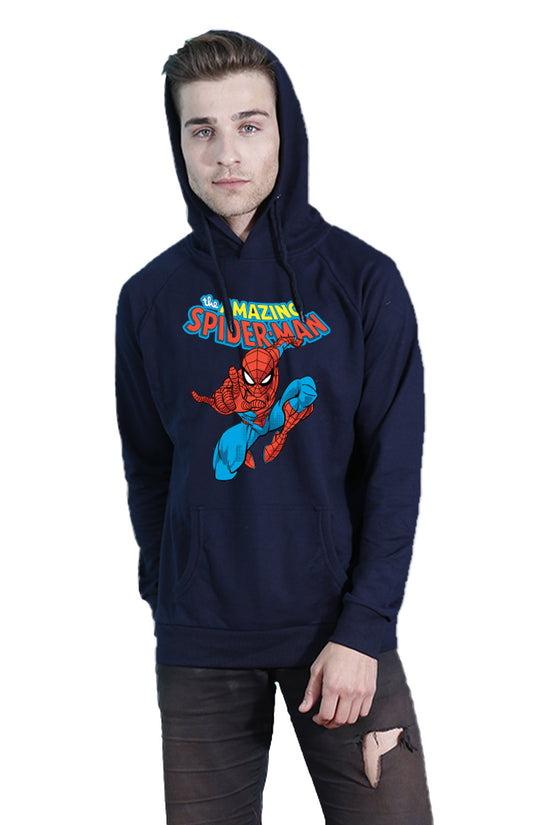 Amazing SpiderMan Hoodie For Men Navy