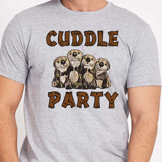 Cuddle Party Tees Men