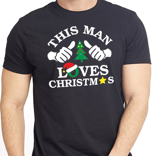 This Family Loves Christmas Family Tees