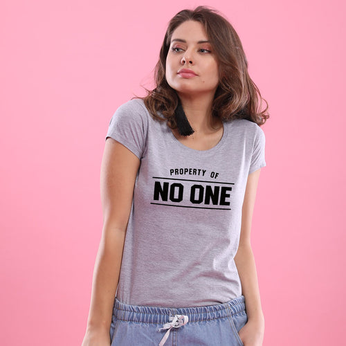 Property Of No One Tees
