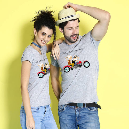 Bikers Forever, Matching Couples Tees