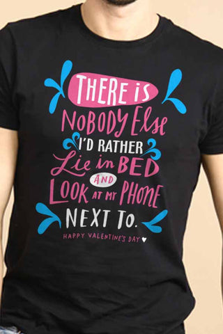 There Is Nobody Else Couple Tees