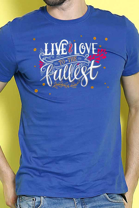 Live And Love Couple Tees