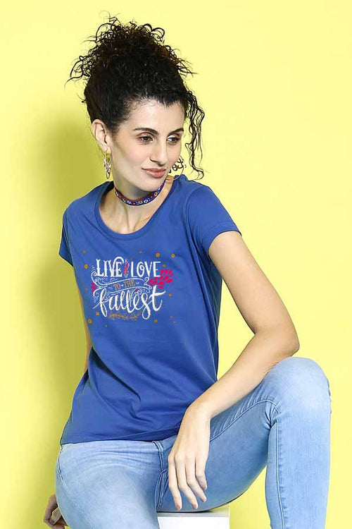 Live And Love Couple Tees for women