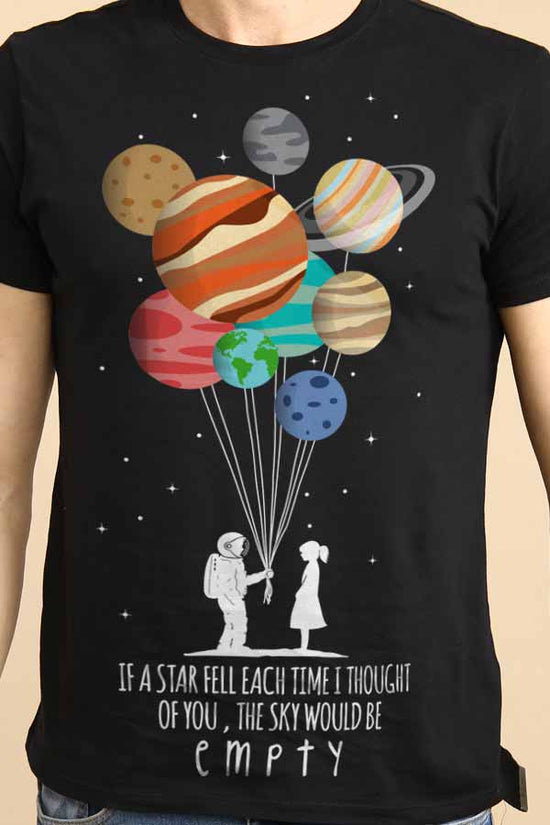 If A Star Fell Each Time Couple Tees